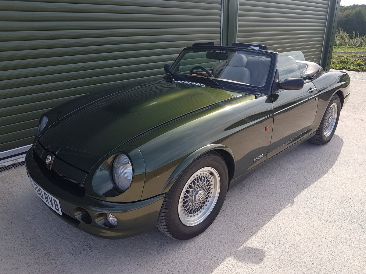 1994 MG RV8 3.9ltr. Low mileage & Superb Condition SOLD (picture 1 of 6)