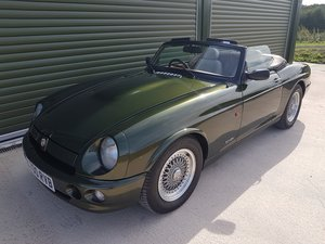 MG RV8 3.9ltr. Low mileage & Superb Condition