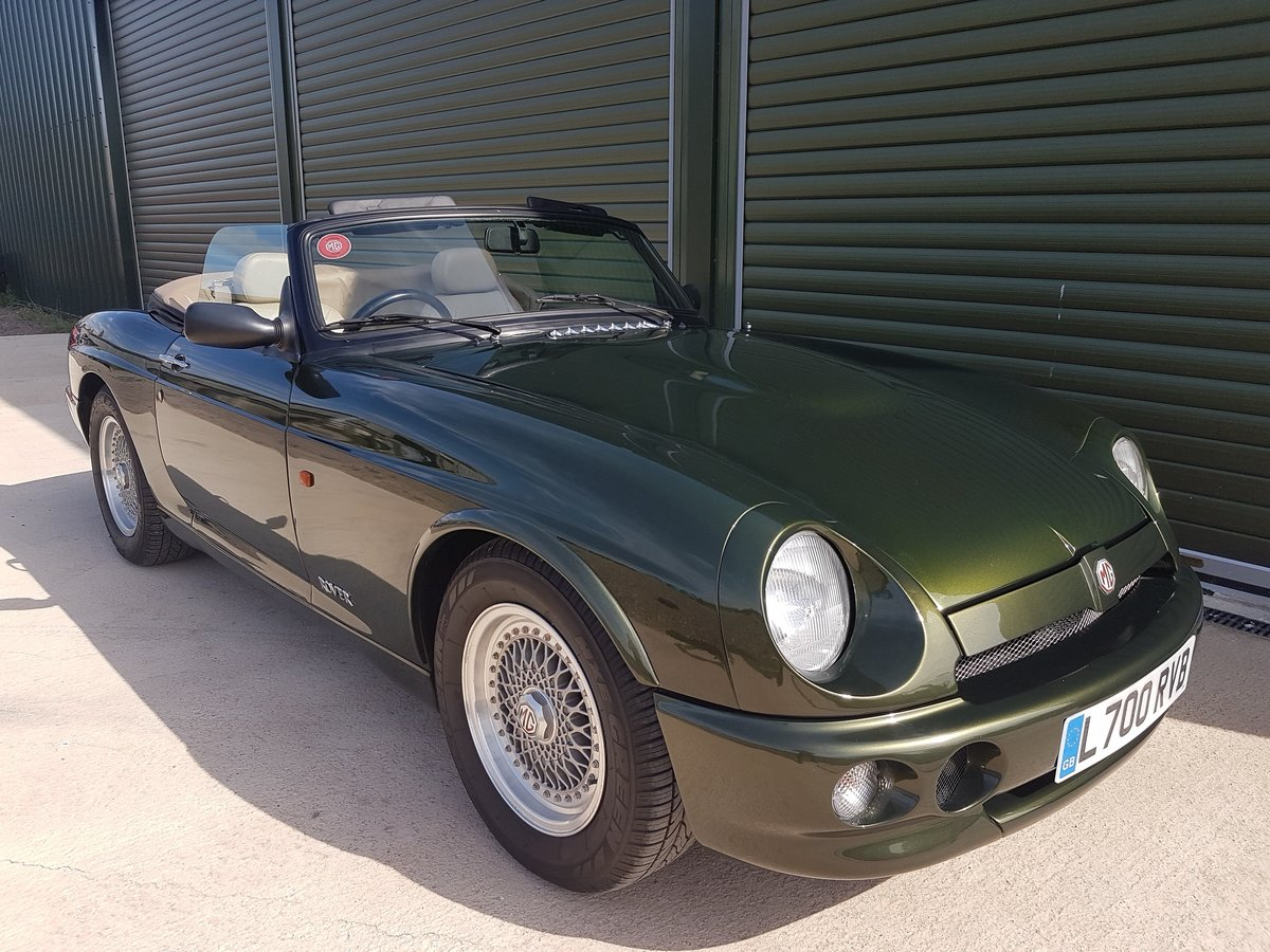 1994 MG RV8 3.9ltr. Low mileage & Superb Condition SOLD (picture 2 of 6)