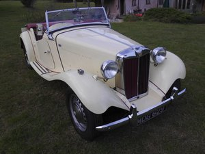 1953 MG TD2 sports For Sale