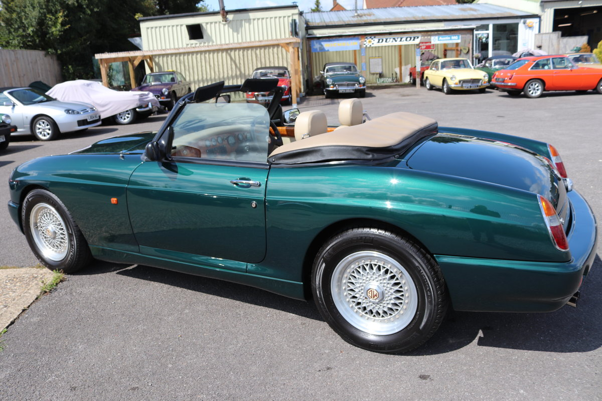 1993 MGR V8, UK Car in Racing green metallic,immaculate For Sale (picture 2 of 6)