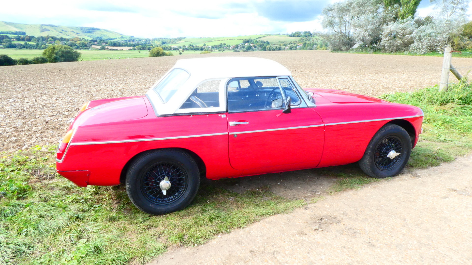 1963 MGB Roadster Early Pull Handle Car  For Sale (picture 3 of 6)