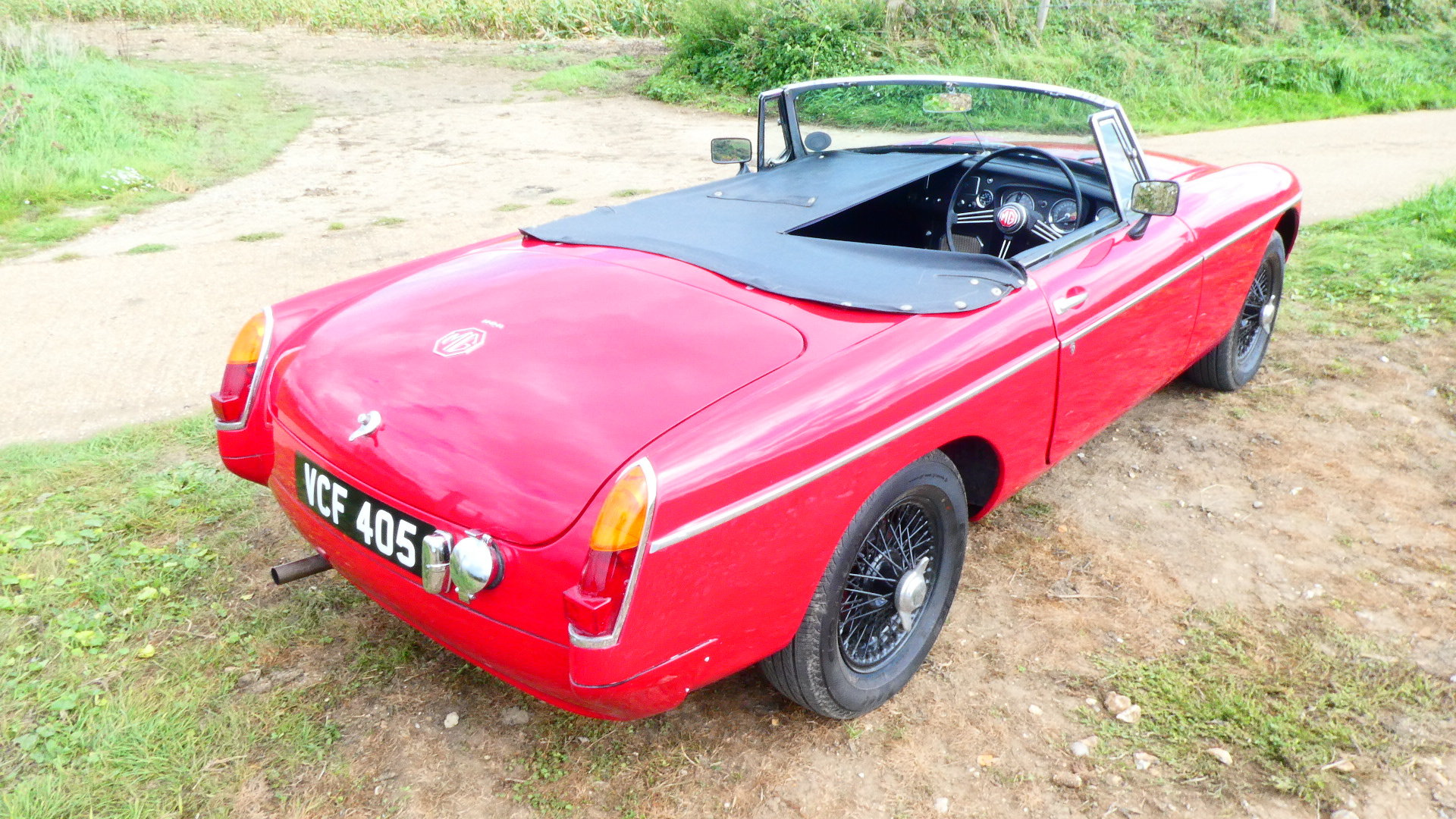 1963 MGB Roadster Early Pull Handle Car  For Sale (picture 6 of 6)