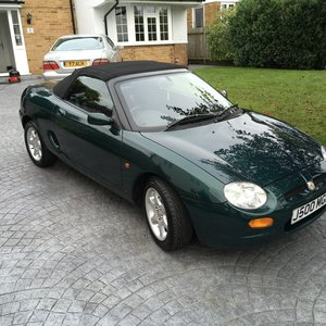 1996 MG MGF 1800 Non VVC 9600 miles rust free For Sale