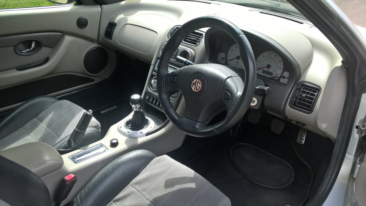 2003 MG TF MGOC member selling REDUCED FOR WINTER SALE For Sale (picture 1 of 5)