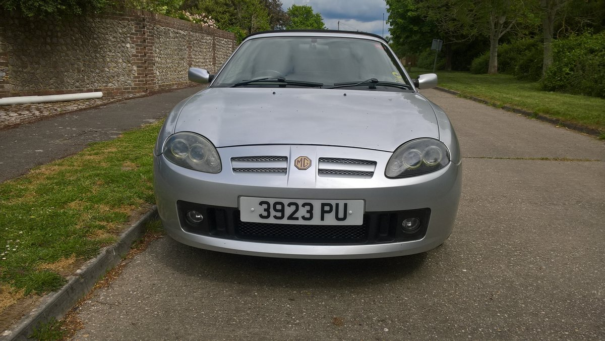 2003 MG TF MGOC member selling REDUCED FOR WINTER SALE For Sale (picture 2 of 5)