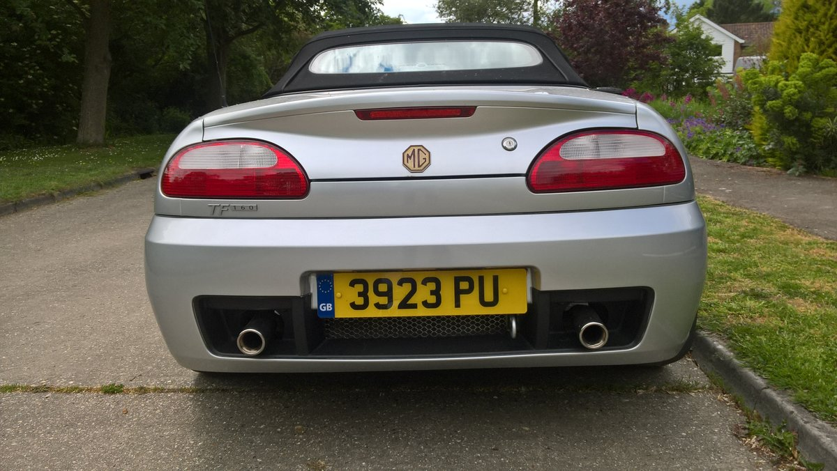 2003 MG TF MGOC member selling REDUCED FOR WINTER SALE For Sale (picture 5 of 5)