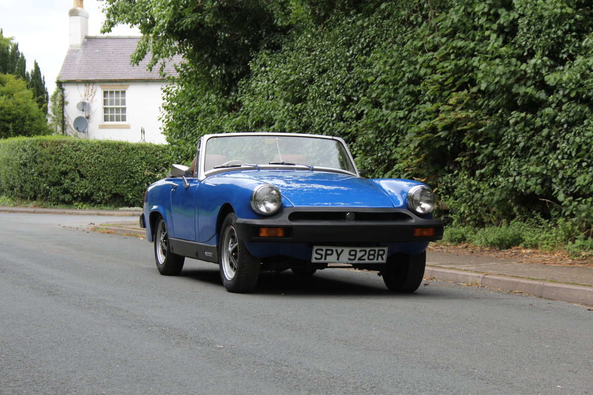 1977 MG Midget 1500 - 10k miles since new Gold Seal engine  For Sale (picture 1 of 19)