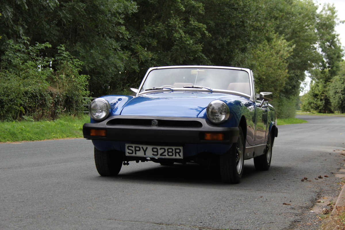 1977 MG Midget 1500 - 10k miles since new Gold Seal engine  For Sale (picture 3 of 19)
