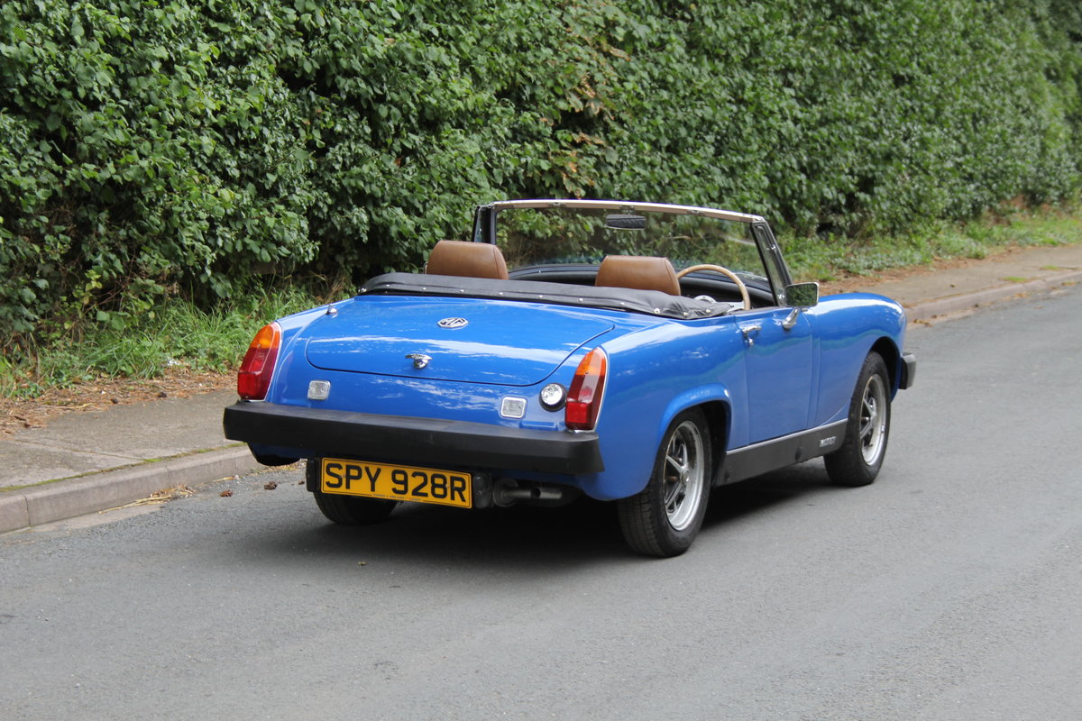 1977 MG Midget 1500 - 10k miles since new Gold Seal engine  For Sale (picture 6 of 19)