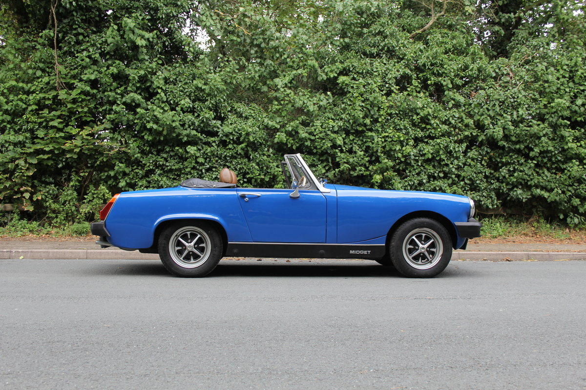 1977 MG Midget 1500 - 10k miles since new Gold Seal engine  For Sale (picture 7 of 19)