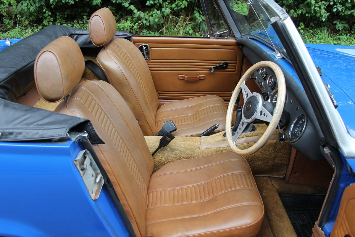 1977 MG Midget 1500 - 10k miles since new Gold Seal engine  For Sale (picture 9 of 19)