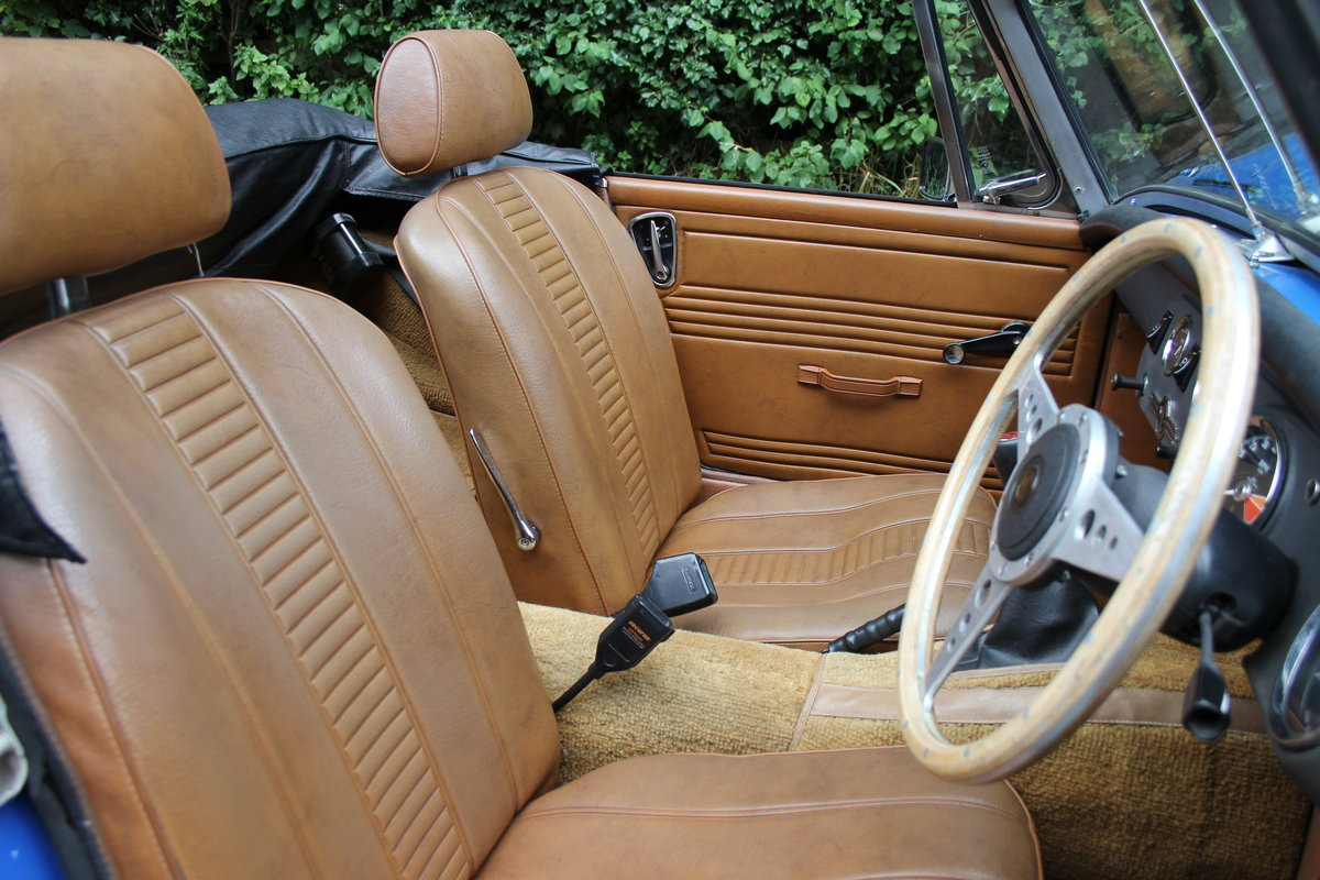 1977 MG Midget 1500 - 10k miles since new Gold Seal engine  For Sale (picture 10 of 19)