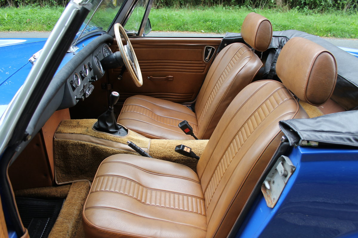 1977 MG Midget 1500 - 10k miles since new Gold Seal engine  For Sale (picture 12 of 19)