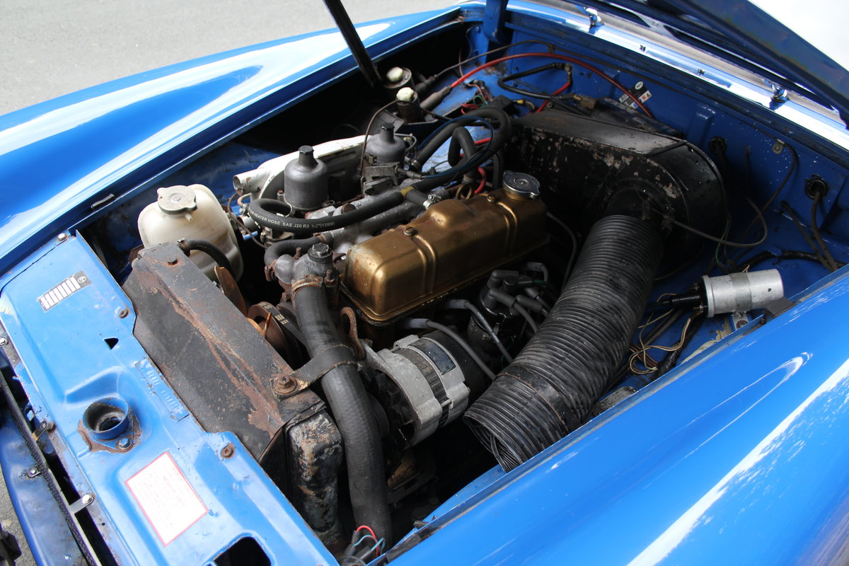 1977 MG Midget 1500 - 10k miles since new Gold Seal engine  For Sale (picture 15 of 19)