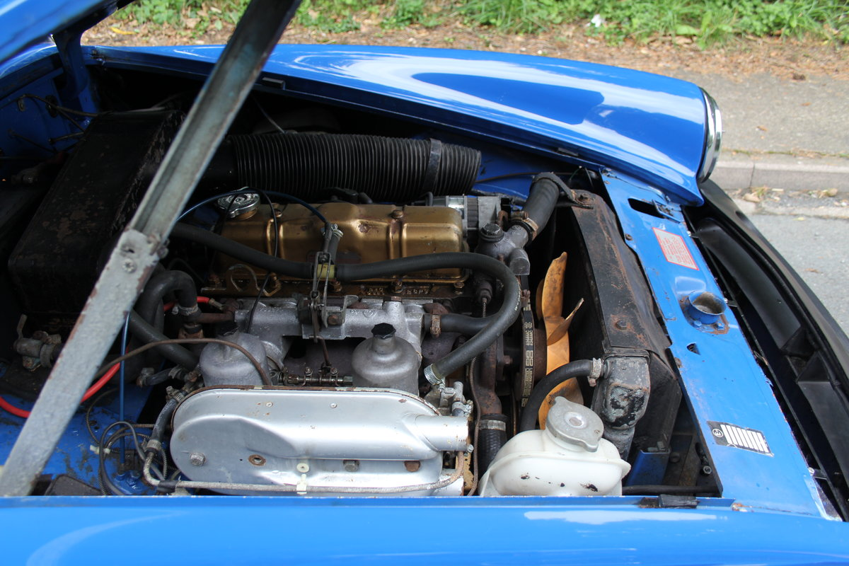 1977 MG Midget 1500 - 10k miles since new Gold Seal engine  For Sale (picture 18 of 19)