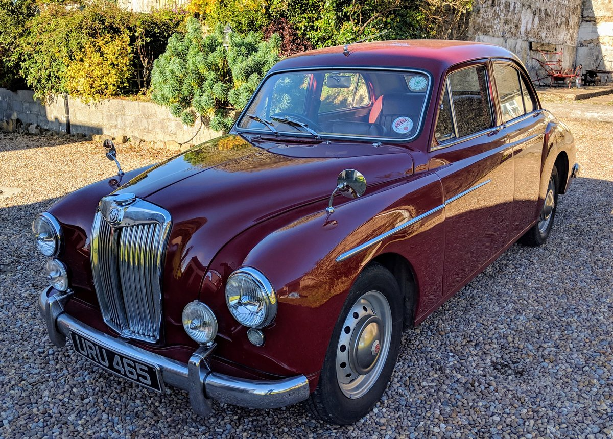 1957 MG Magnette ZB For Sale (picture 1 of 6)