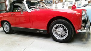 1970 Heritage shelled MG Midget MKIII 1275cc For Sale