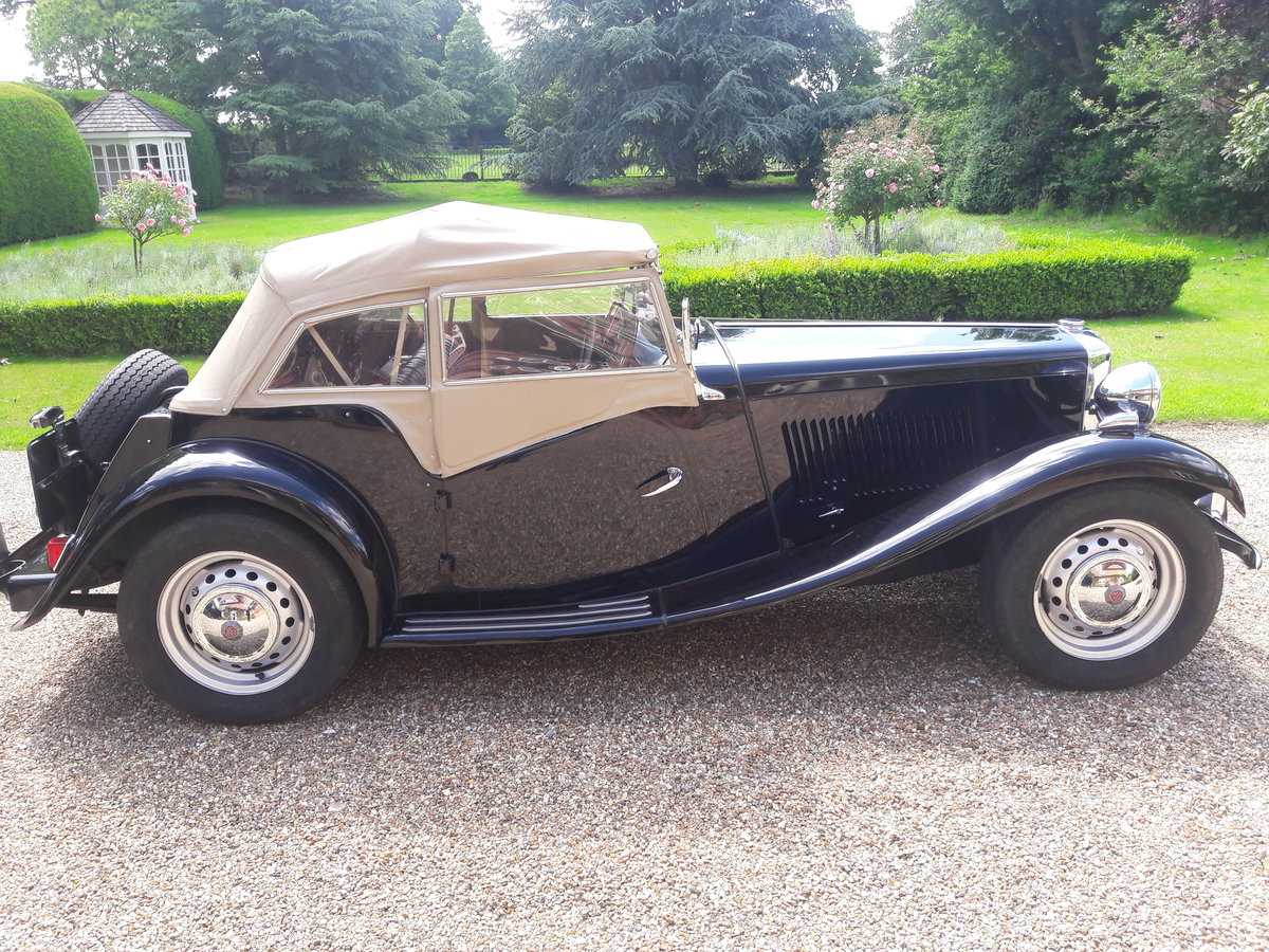 1952 MG TD 2 RHD For Sale (picture 4 of 6)