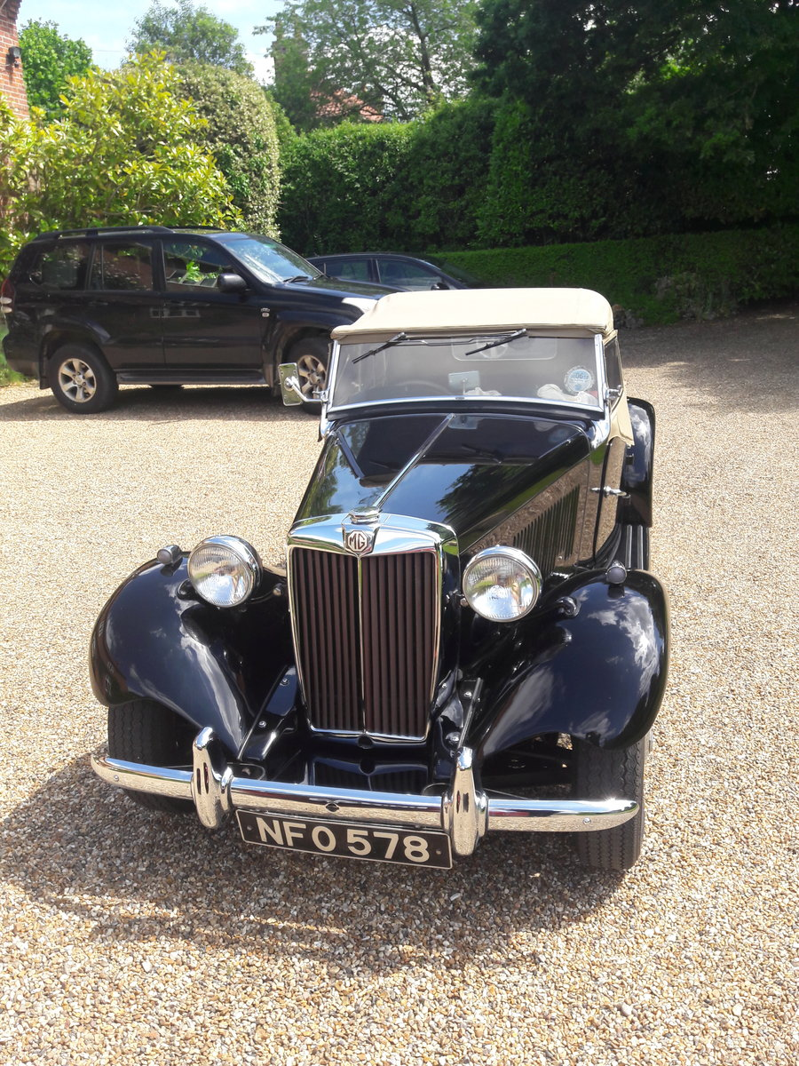 1952 MG TD 2 RHD For Sale (picture 5 of 6)