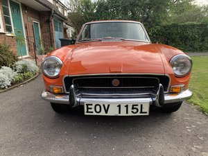 1972 MG Mgb Gt 1.8 2dr - Well Loved Smooth Ride! For Sale
