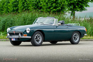 1973 Very nice MGB Roadster 1800 LHD For Sale