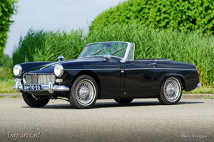 1967 Pretty MG Midget 1275 in black RHD For Sale