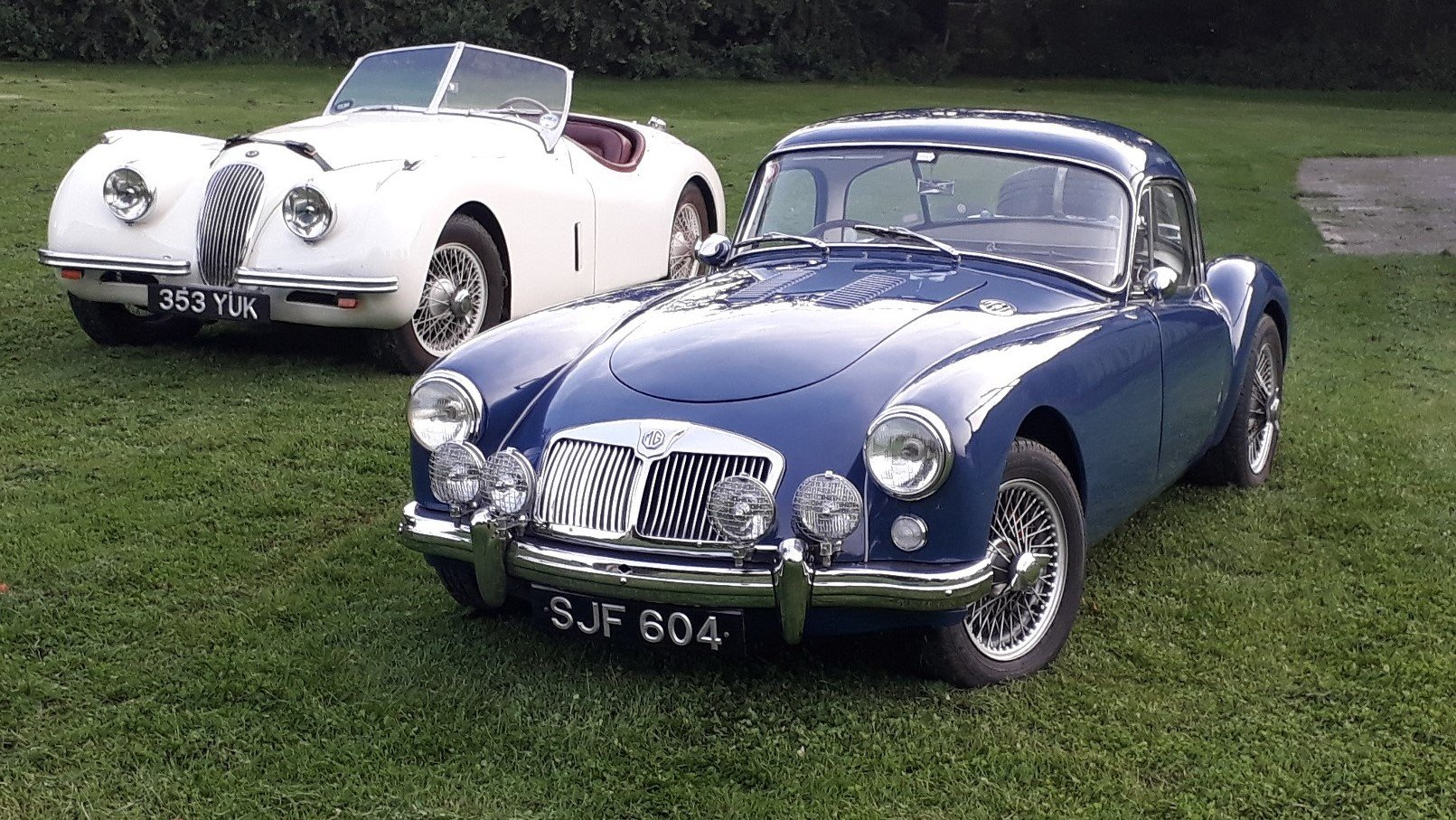 MG A MGA Coupe FHC 1798cc 1958 7k Miles Conversion Special For Sale (picture 1 of 6)