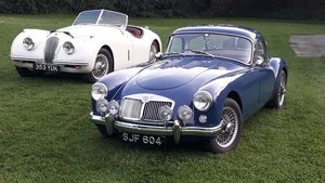 MG A MGA Coupe FHC 1798cc 1958 7k Miles Conversion Special For Sale
