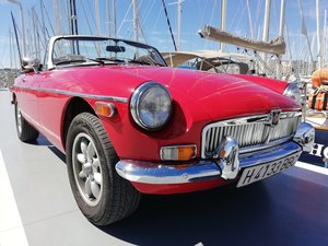 1976 MGB Roadster in Mallorca, LHD Historic Plate For Sale