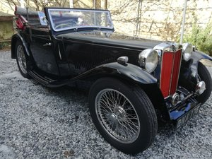 1939 MG TB Tickford  For Sale