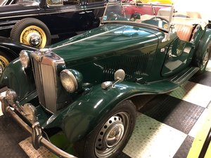 1954 MG TD Perfect for Brit that has home across the Channel