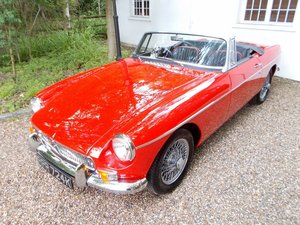 MGB ROADSTER 1972 Restored  For Sale