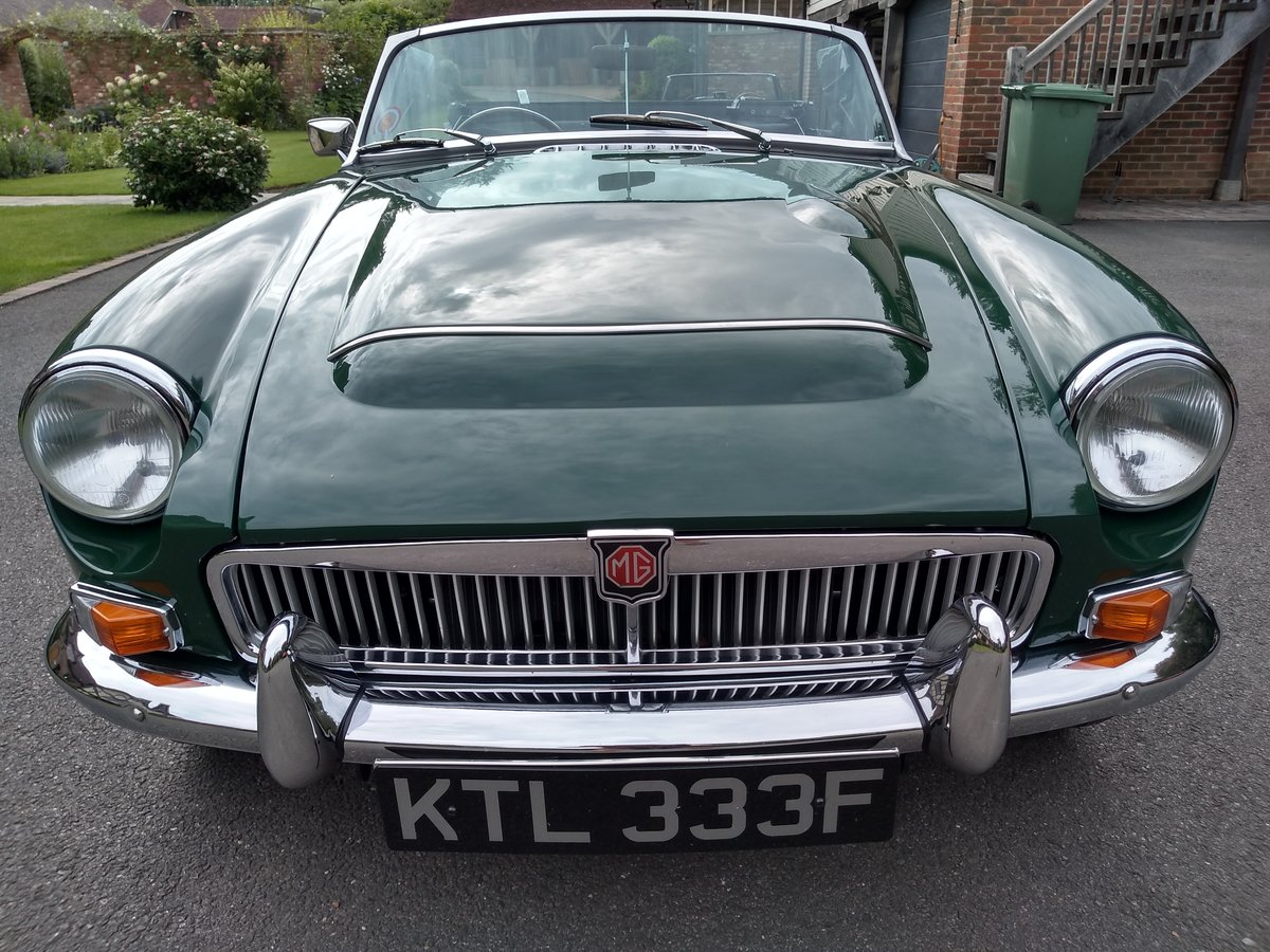 1968 MGC Convertible For Sale (picture 1 of 6)