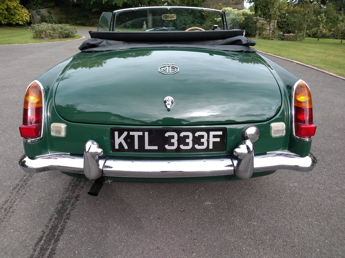 1968 MGC Convertible SOLD (picture 5 of 6)