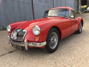 Superb 1961 MGA MkII 1600 Coupe LHD