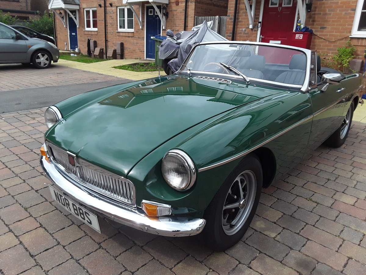 1977 MGB ROADSTER STUNNING CHROME BUMPER Conversion For Sale