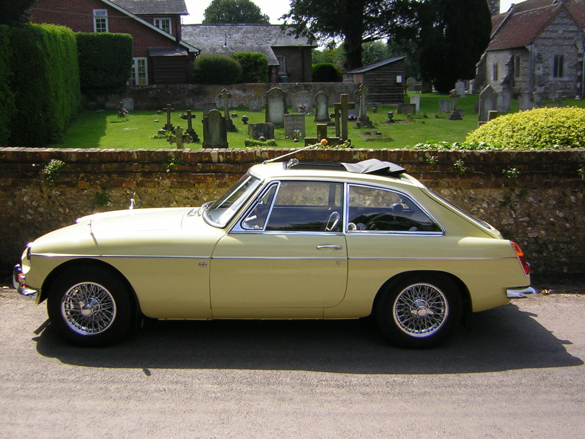 MGB GT 1967, Prev Show Winner, Stunning Mk1  SOLD (picture 1 of 6)