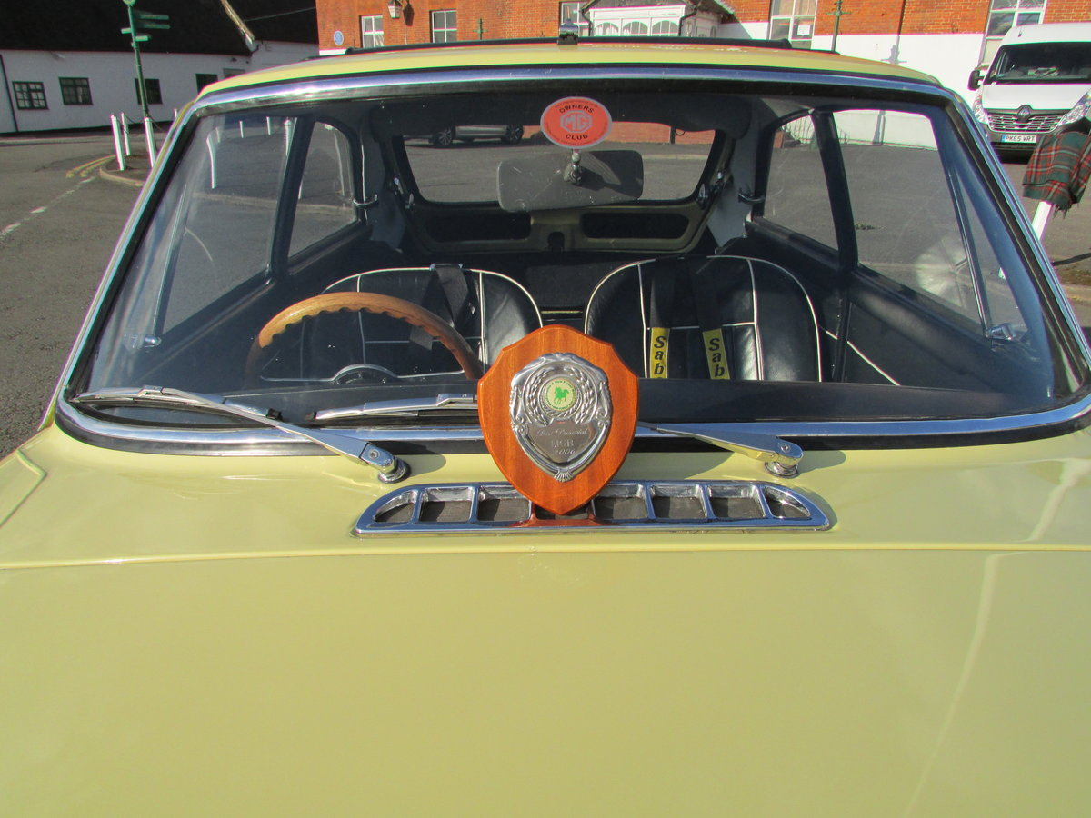 MGB GT 1967, Prev Show Winner, Stunning Mk1  SOLD (picture 5 of 6)