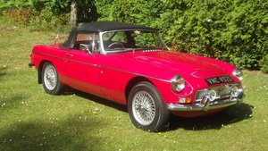 1968 MGC AUTOMATIC ROADSTER (1 of 92 made) For Sale