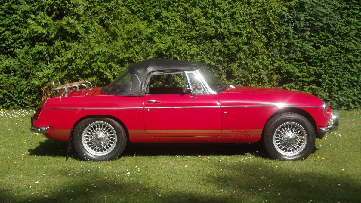 1968 MGC AUTOMATIC ROADSTER (1 of 92 made) For Sale (picture 2 of 6)