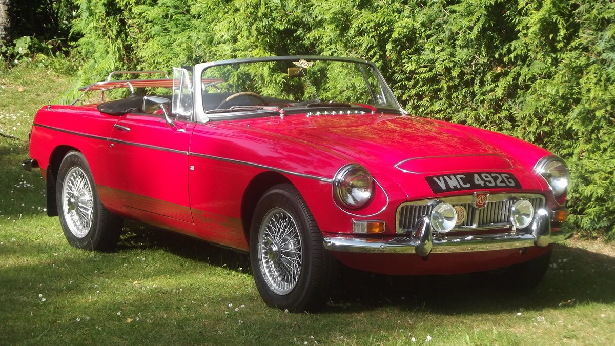 1968 MGC AUTOMATIC ROADSTER (1 of 92 made) For Sale (picture 3 of 6)