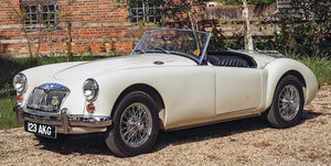 1962 MGA 1600 MARK II ROADSTER For Sale by Auction