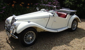 1954 MG MIDGET TF 1250 ROADSTER For Sale by Auction