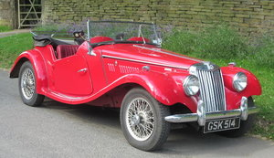 1955 MG MIDGET TF 1500 ROADSTER For Sale by Auction