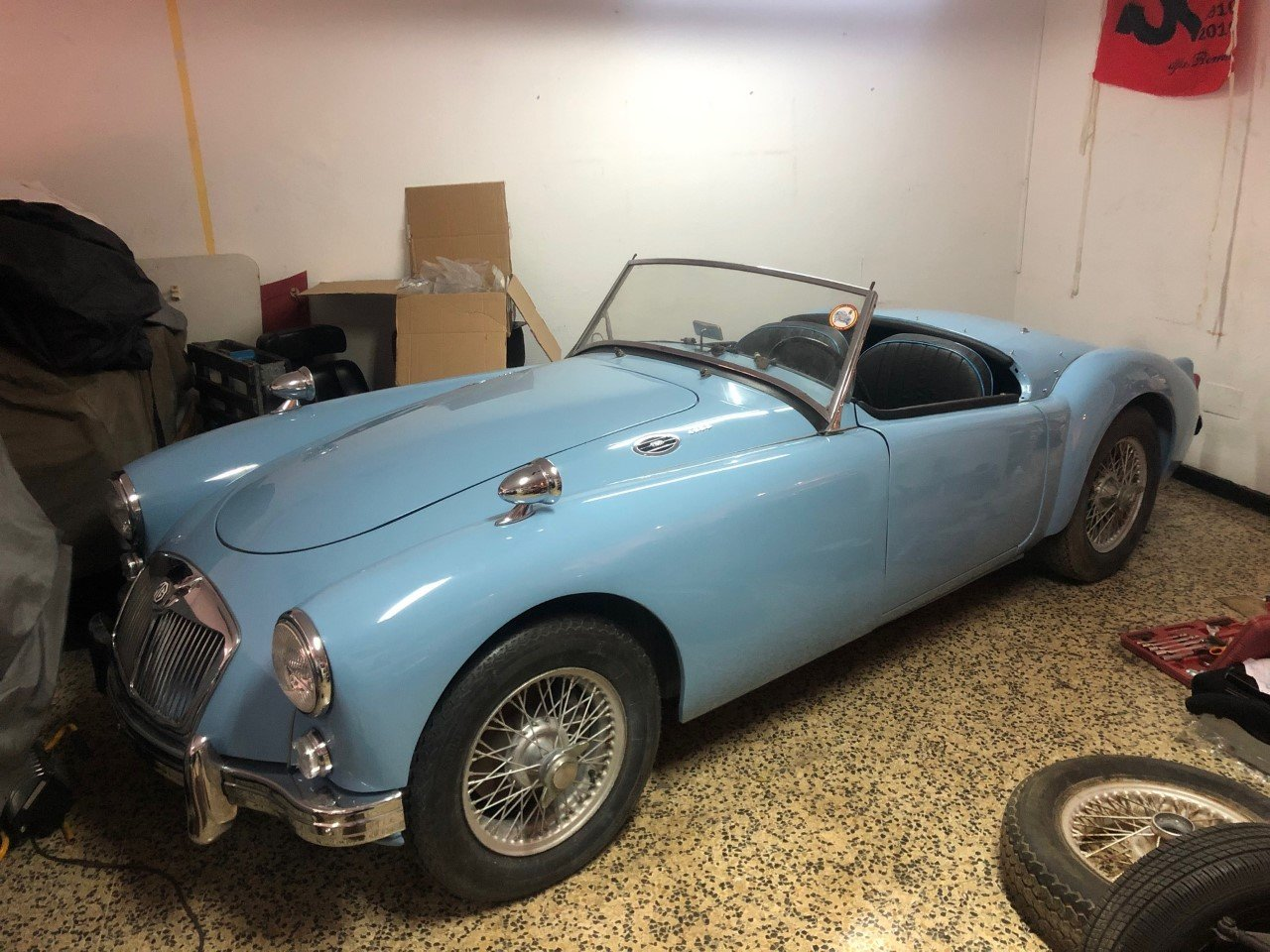 MG A 1600 Roadster 1960 For Sale (picture 1 of 6)