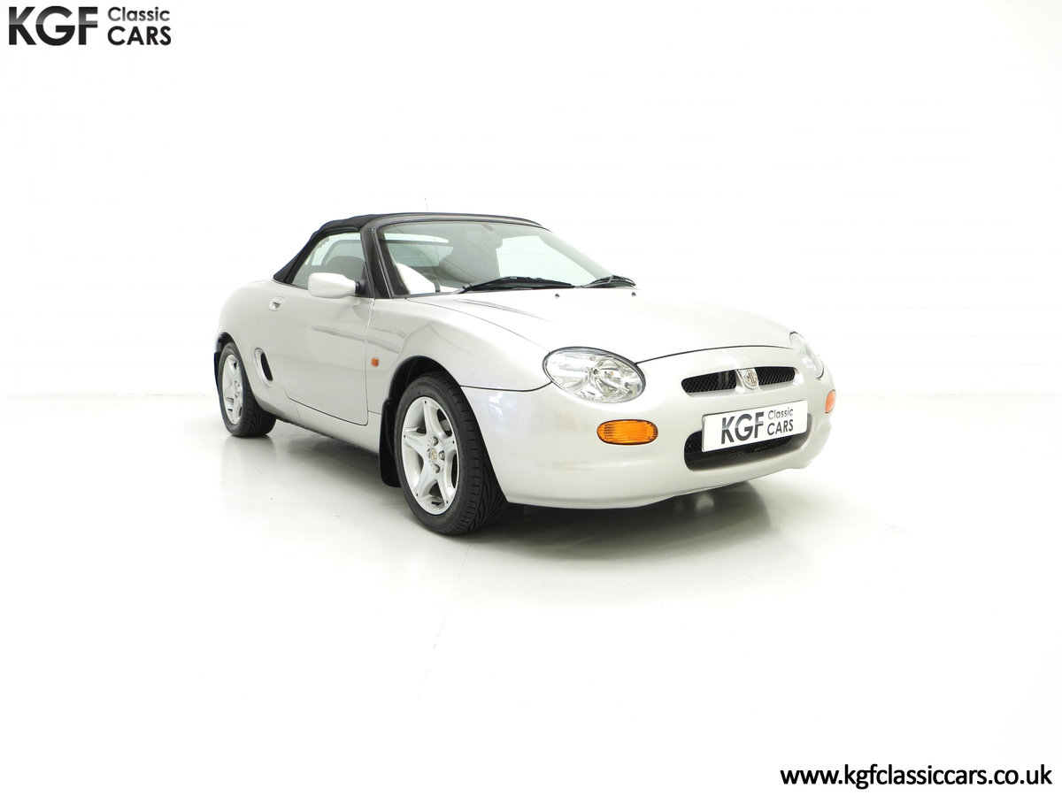 1998 An Astonishing MGF 1.8i VVC with Just 12,591 Miles For Sale (picture 1 of 6)
