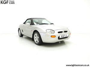 1998 An Astonishing MGF 1.8i VVC with Just 12,591 Miles For Sale