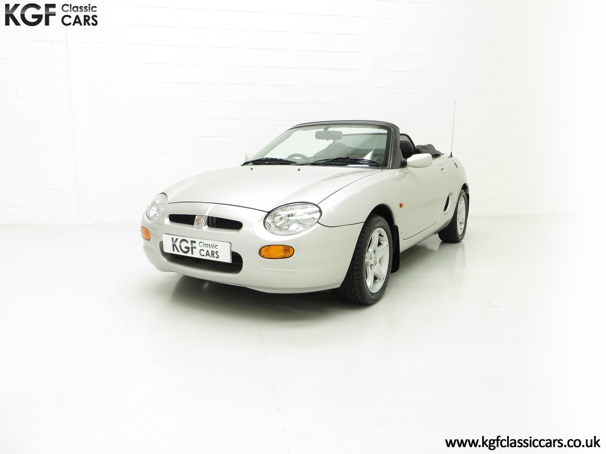 1998 An Astonishing MGF 1.8i VVC with Just 12,591 Miles For Sale (picture 2 of 6)