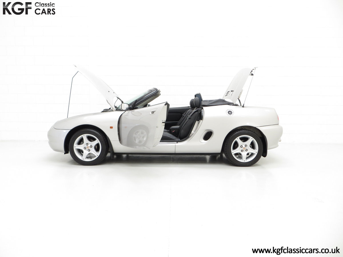 1998 An Astonishing MGF 1.8i VVC with Just 12,591 Miles For Sale (picture 3 of 6)